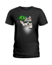 Siberian Husky BZ 3105 Ladies T-Shirt thumbnail