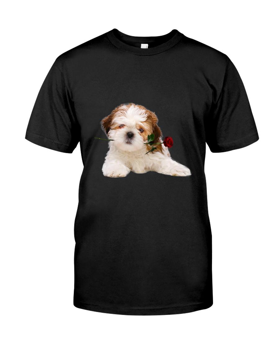 Shih Tzu Rose Classic T-Shirt