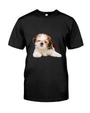 Shih Tzu Rose Classic T-Shirt front