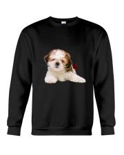 Shih Tzu Rose Crewneck Sweatshirt thumbnail