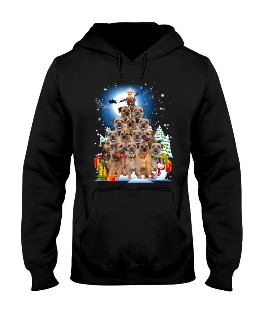 GAEA - Border Terrier Pine - 1810 - 92 Hooded Sweatshirt