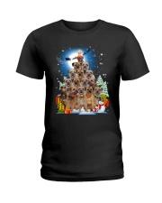 GAEA - Border Terrier Pine - 1810 - 92 Ladies T-Shirt thumbnail