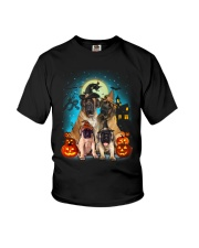 Gaea - English Mastiff Halloween - 1608 - 38 Youth T-Shirt thumbnail