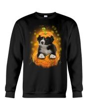 NYX - Border Collie Pumpkin Halloween - 39 Crewneck Sweatshirt thumbnail