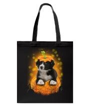 NYX - Border Collie Pumpkin Halloween - 39 Tote Bag thumbnail