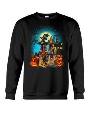 Gaea- German Shepherd Halloween-1508-22 Crewneck Sweatshirt thumbnail