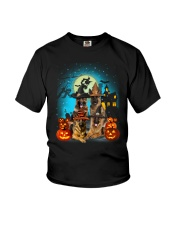 Gaea- German Shepherd Halloween-1508-22 Youth T-Shirt thumbnail