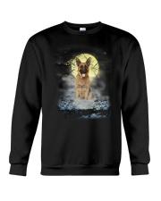 German Shepherd Moon 2205 Crewneck Sweatshirt thumbnail