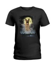 German Shepherd Moon 2205 Ladies T-Shirt thumbnail