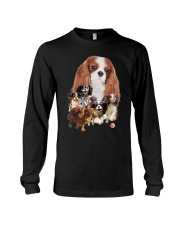 GAEA - Cavalier King Charles Spaniel Running 1603 Long Sleeve Tee tile