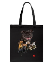 GAEA - Staffordshire Bull Terrier Runnig 1403 Tote Bag thumbnail