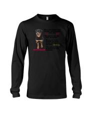 Rottweiler Friends 0806 Long Sleeve Tee thumbnail