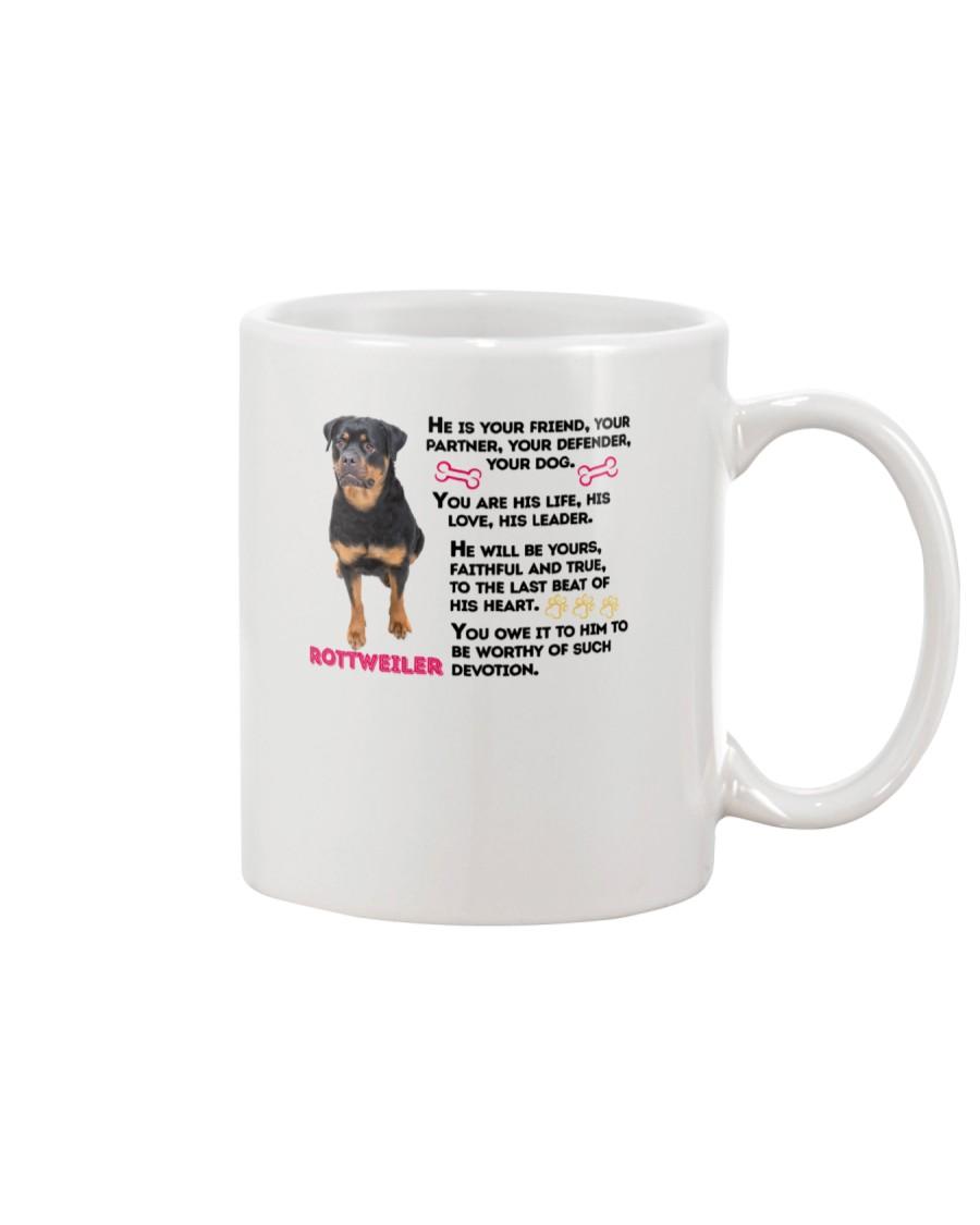 Rottweiler Friends 0806 Mug