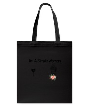 Coffee Simple Woman 2004 Tote Bag thumbnail