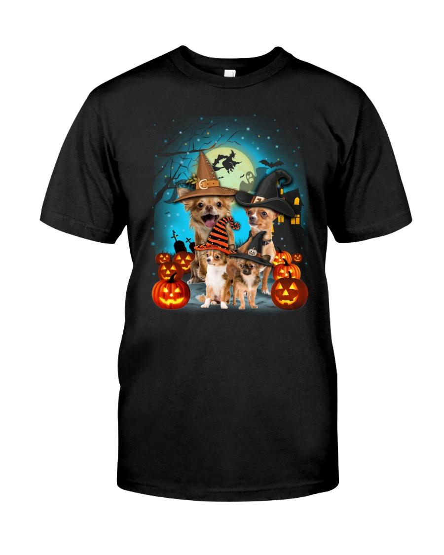 Gaea- Chihuahua Halloween- 1508- 10 Classic T-Shirt