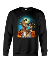 Gaea- Chihuahua Halloween- 1508- 10 Crewneck Sweatshirt thumbnail