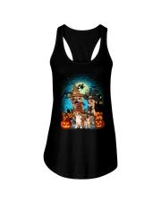 Gaea- Chihuahua Halloween- 1508- 10 Ladies Flowy Tank thumbnail