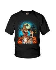 Gaea- Chihuahua Halloween- 1508- 10 Youth T-Shirt thumbnail