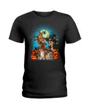 Gaea- Chihuahua Halloween- 1508- 10 Ladies T-Shirt thumbnail