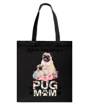 GAEA - Pug Busy Mom 1704 Tote Bag tile