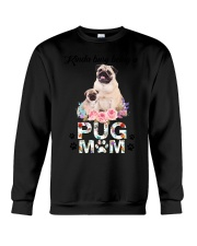 GAEA - Pug Busy Mom 1704 Crewneck Sweatshirt thumbnail