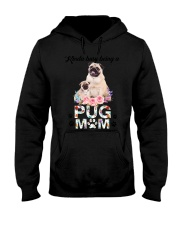 GAEA - Pug Busy Mom 1704 Hooded Sweatshirt thumbnail