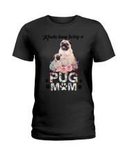 GAEA - Pug Busy Mom 1704 Ladies T-Shirt thumbnail