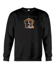 Boxer Dear Human Dad 0106 Crewneck Sweatshirt thumbnail