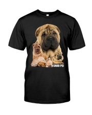 Shar Pei Awesome Classic T-Shirt front