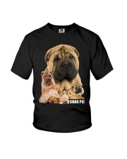 Shar Pei Awesome Youth T-Shirt thumbnail