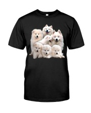 Samoyed Five Classic T-Shirt front
