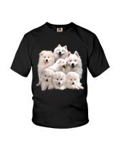 Samoyed Five Youth T-Shirt thumbnail