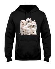 Samoyed Five Hooded Sweatshirt thumbnail
