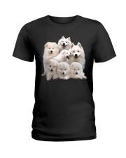 Samoyed Five Ladies T-Shirt thumbnail