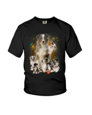 GAEA - Australian Shepherd Smile 1204 Youth T-Shirt thumbnail