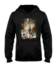 GAEA - Australian Shepherd Smile 1204 Hooded Sweatshirt thumbnail
