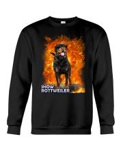 Rottweiler Show 1306 Crewneck Sweatshirt thumbnail