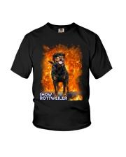 Rottweiler Show 1306 Youth T-Shirt thumbnail