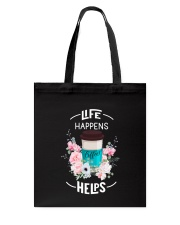 Coffee Helps 2905 Tote Bag thumbnail