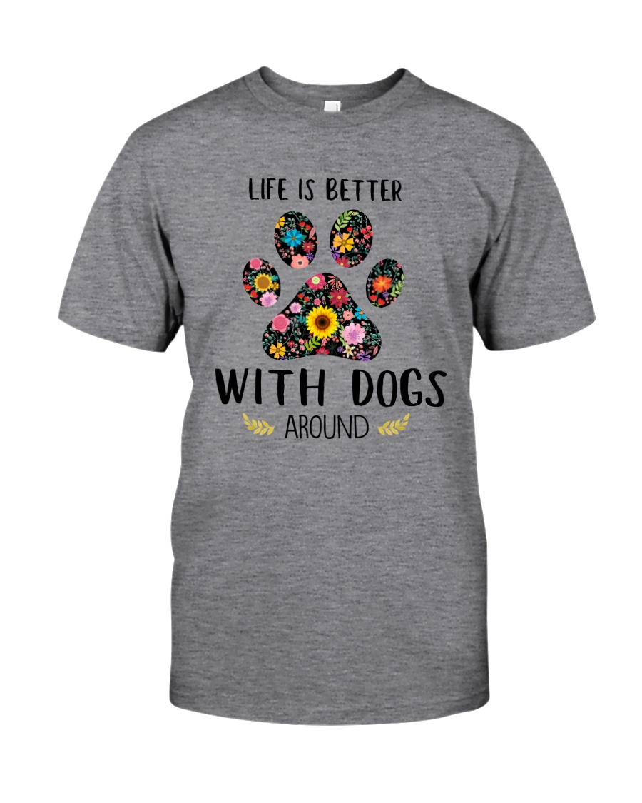 GAEA - Dogs Around 1704 Classic T-Shirt