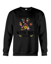 GAEA - Dogs Around 1704 Crewneck Sweatshirt thumbnail
