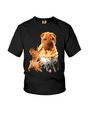 GAEA - Shar Pei Running 1603 Youth T-Shirt thumbnail