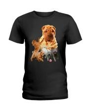 GAEA - Shar Pei Running 1603 Ladies T-Shirt thumbnail