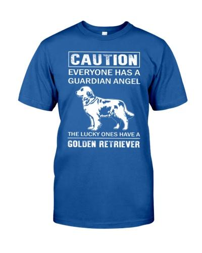 Golden Retriever Caution