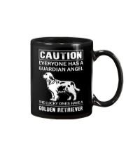 Golden Retriever Caution Mug thumbnail