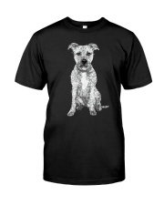 American Pit Bull Terrier Bling - 0903 Classic T-Shirt front