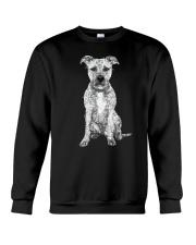 American Pit Bull Terrier Bling - 0903 Crewneck Sweatshirt thumbnail