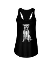 American Pit Bull Terrier Bling - 0903 Ladies Flowy Tank thumbnail