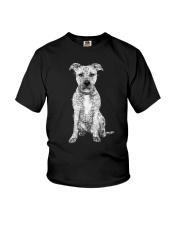American Pit Bull Terrier Bling - 0903 Youth T-Shirt thumbnail