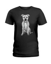 American Pit Bull Terrier Bling - 0903 Ladies T-Shirt thumbnail